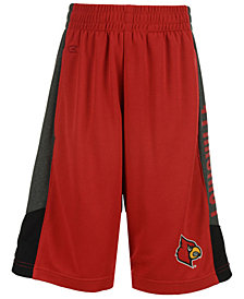 Colosseum Louisville Cardinals Strike Shorts, Big Boys