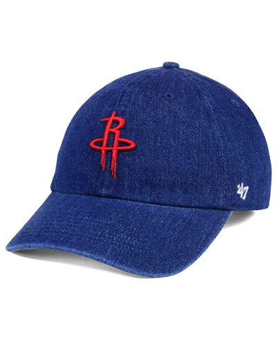 '47 Brand Houston Rockets All Denim CLEAN UP Cap
