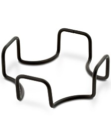 Thirstystone Square Black Iron Coaster Holder