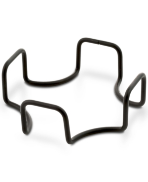 Thirstystone Square Black Iron Coaster Holder
