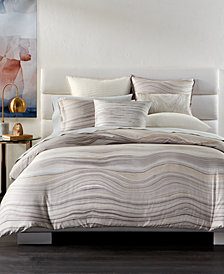 Hotel Collection Agate Pima Cotton Full/Queen Duvet Cover, Created for Macy's