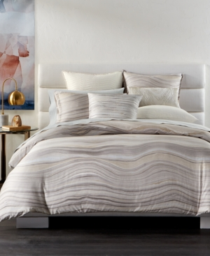 Hotel collection agate pima cotton full queen duvet cover for Pima cotton comforter