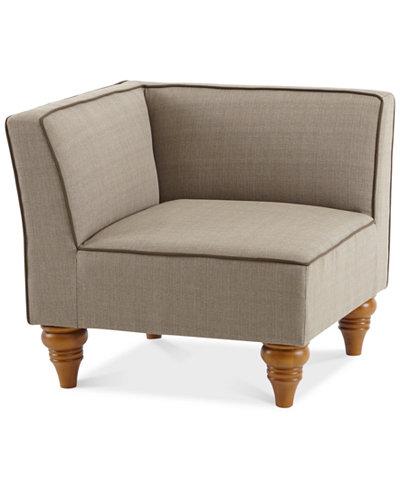Dalton Outdoor Corner Chair, Quick Ship
