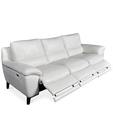 CLOSEOUT! Stefana 3-Pc. Sectional Sofa with 3 Power Recliners, Created for Macy's