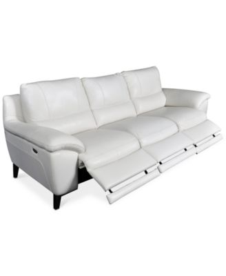 Stefana 3 Pc. Sectional Sofa With 3 Power Recliners, Created For Macyu0027s
