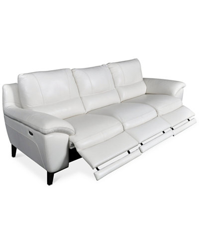 Stefana 3-Pc. Sectional Sofa with 3 Power Recliners, Created for Macy's