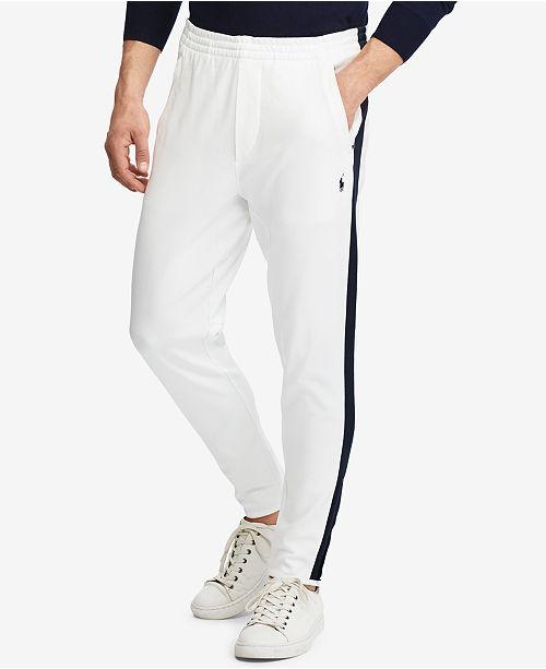 0299a9497231 Polo Ralph Lauren Men s Knit Cotton Track Pants   Reviews - Pants ...