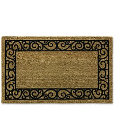 "Bacova French Quarters 20"" x 30"" Flocked Doormat"
