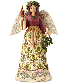 Jim Shore Victorian Angel with Candle Figurine