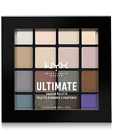 NYX Professional Makeup Ultimate Shadow Palette, Cool Neutrals