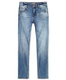 Regular-Fit Blue Stone Jeans, Little Boys