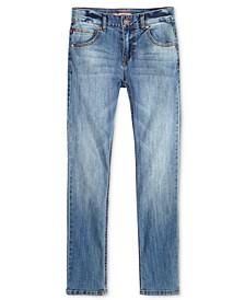Regular-Fit Blue Stone Jeans, Little Boys