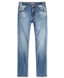Tommy Hilfiger Regular-Fit Stone Blue Jeans, Big Boys