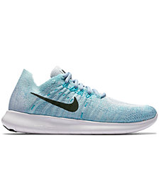 Nike Women's Free Run Flyknit 2017 Running Sneakers from Finish Line