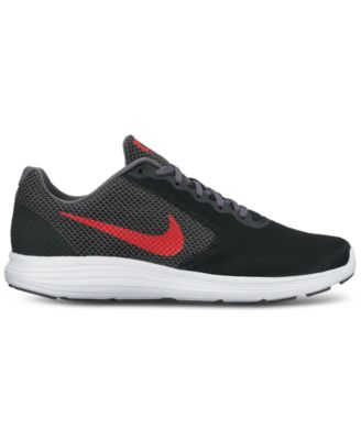 Image of Nike Men's Revolution 3 Running Sneakers from Finish Line