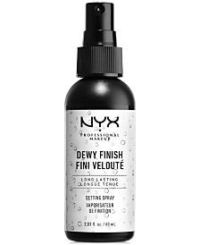 NYX Professional Makeup Makeup Setting Spray - Dewy Finish