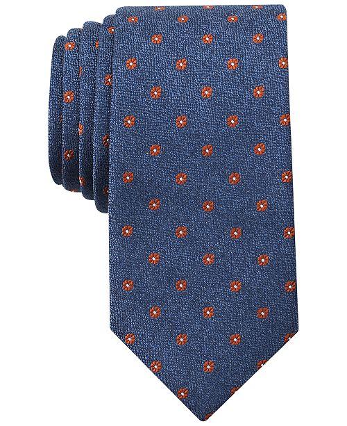 Bar III Men's Cheverly Neat Skinny Tie, Created for Macy's