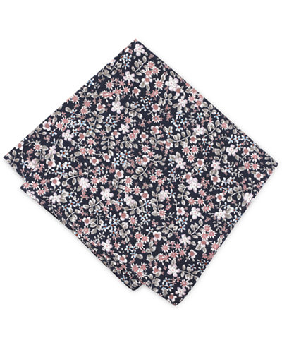 Bar III Men's Franconia Floral Pocket Square, Created for Macy's
