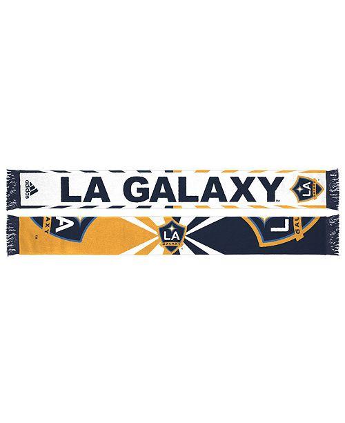 adidas LA Galaxy Jacquard Wordmark Scarf