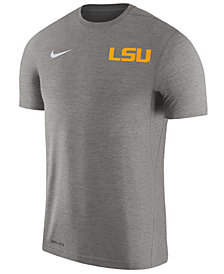Nike Men's LSU Tigers Dri-Fit Touch T-Shirt