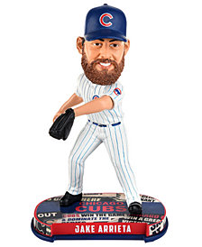 Forever Collectibles Jake Arrieta Chicago Cubs Headline Bobblehead