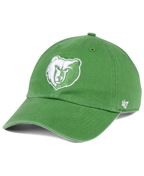 '47 Brand Memphis Grizzlies Pastel Rush CLEAN UP Cap