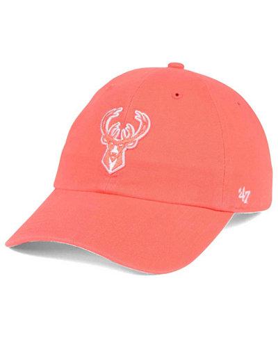 '47 Brand Milwaukee Bucks Pastel Rush CLEAN UP Cap