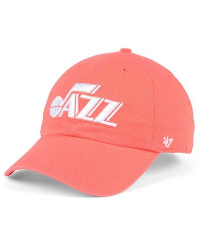 '47 Brand Utah Jazz Pastel Rush CLEAN UP Cap