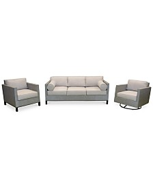 outdoor patio furniture - semi-annual home sale! - macy's - Big Sofa Laguna Magic Cream