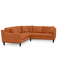 CLOSEOUT! Nario 2-Pc. Sectional with Loveseat, Created for Macy's