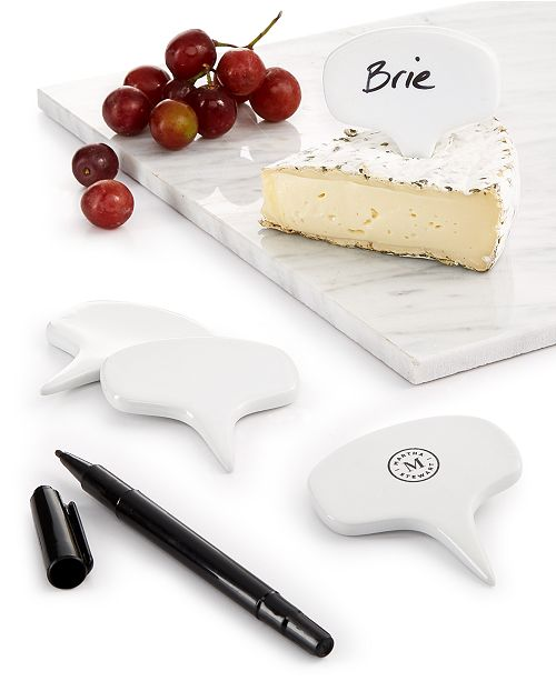 Martha Stewart Collection Cheese-Marker Set, Created for Macy's,