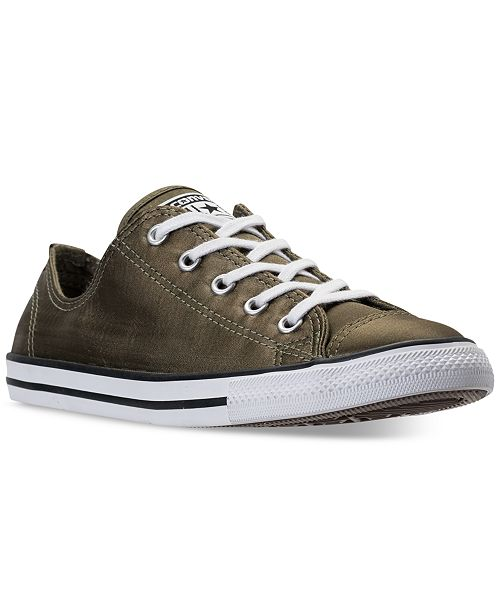 Converse Women's Chuck Taylor Dainty Satin Casual Sneakers from Finish Line