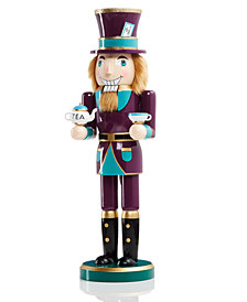 "Holiday Lane 14"" Wood Mad Hatter Nutcracker, Created for Macy's"
