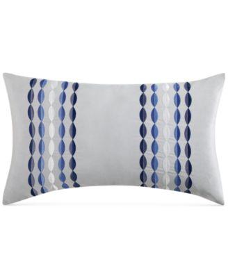 "Alfresco Embroidered 14"" x 20"" Decorative Pillow"