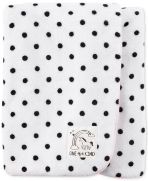 Carters DotPrint Plush Blanket Baby Girls (024 months)