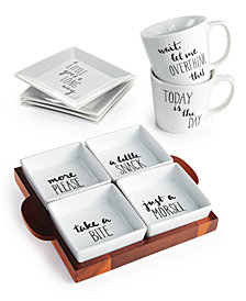 The Cellar Words Collection, Created For Macy's