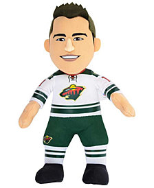 Bleacher Creatures Zach Parise Minnesota Wild 10inch Player Plush Doll