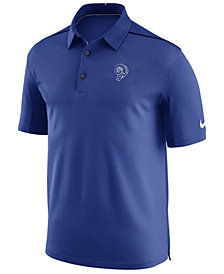 Nike Men's Los Angeles Rams Alt Elite Coaches Polo