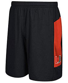 adidas Men's Miami Hurricanes Sideline Shorts