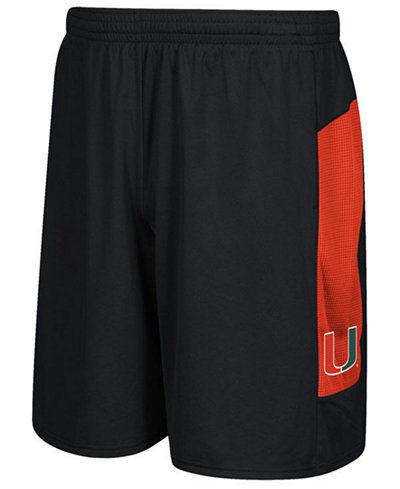 adidas Men's Miami Hurricanes Sideline Shorts