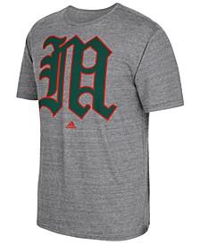 Men's Miami Hurricanes Vintage Logo T-Shirt