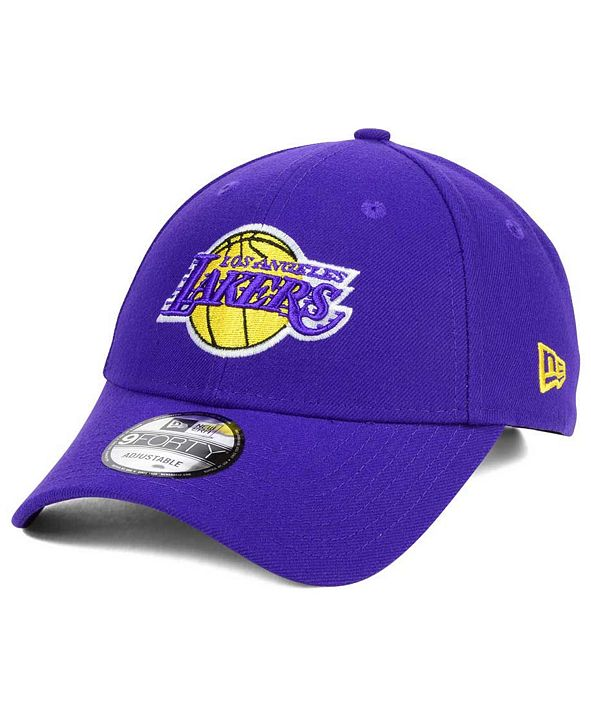New Era Los Angeles Lakers League 9FORTY Adjustable Cap