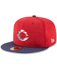 New Era Cincinnati Reds Authentic Collection Stars & Stripes 59FIFTY Cap