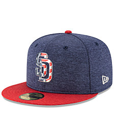 New Era San Diego Padres Authentic Collection Stars & Stripes 59FIFTY Cap