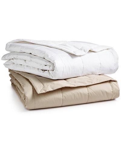 Charter Club European White Down Blanket, Created for Macy's
