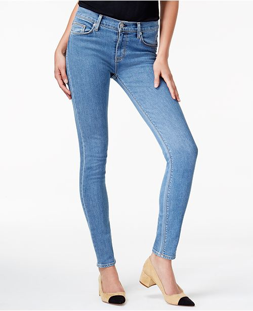 ce16144d45e Hudson Jeans Hudson Nico Ripped Skinny Jeans - Jeans - Women - Macy s