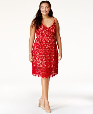 Red Plus Size Dresses - Macy's