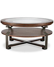 Forge Round Coffee Table, Quick Ship