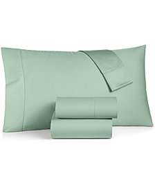 Charter Club Damask Twin 3-Pc Sheet Set, 550 Thread Count 100% Supima Cotton, Created for Macy's