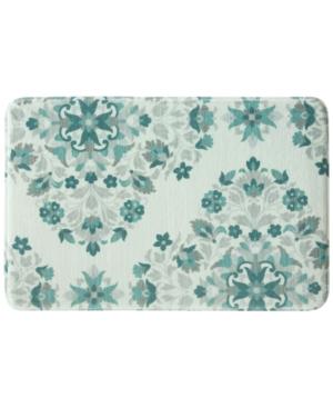 Bacova Bora Bora 20 x 30 Floral Medallion Accent Rug Bedding